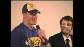 John Cena parle français
