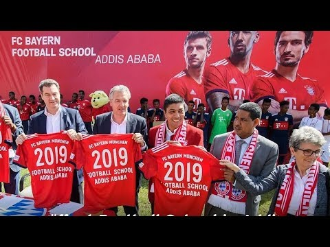 Germany's Bayern Munich FC open its first African football school in Ethiopia