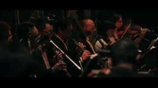 2013年12月28日に日本武道館で41名のオーケストラとバンドメンバー+ス...