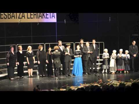 The 2012 Tolosa, Spain International Choral Competition Secular Music