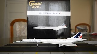 Gemini Jets 1:200 Air France Concorde SST Unboxing and Review
