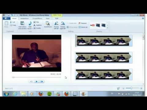 Capturing and Editing Your Videos with Flash Encoder & Windows Movie Maker -