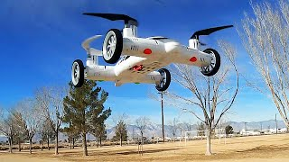 SY X25-1 Space Explorer Flying Car Drone Flight Test Review