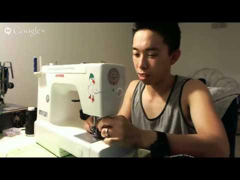 Livestream #2: Late Night Sewing