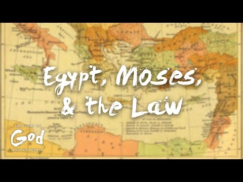 Egypt Moses and the Law