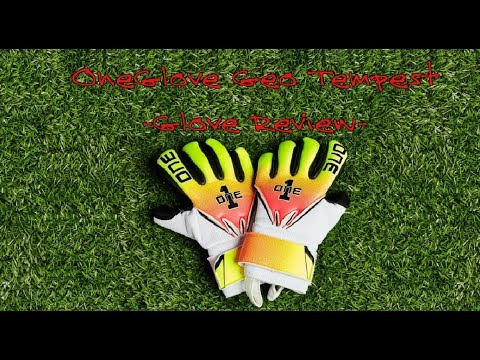 OneGlove Geo Tempest Goalkeeper Gloves Review - YouTube bb8fc7080