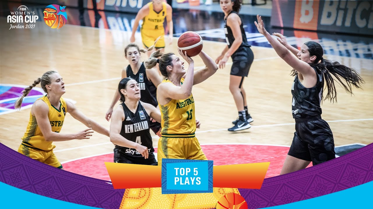 Nike Top 5 Plays   Game Day 4   FIBA Women's Asia Cup 2021