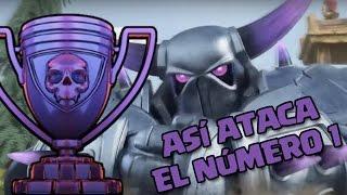 ¡ASÍ ATACA EL PRIMERO DEL MUNDO! | Ataques | Clash of Clans