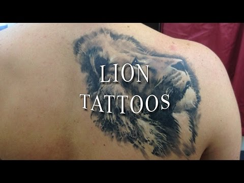 Incredible Lion Tattoos 2018