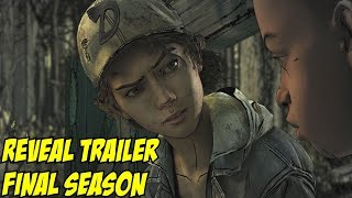 Telltale The Walking Dead Final Season Trailer w/ Clementine August 14th 2018 PC PS4 Xbox Switch
