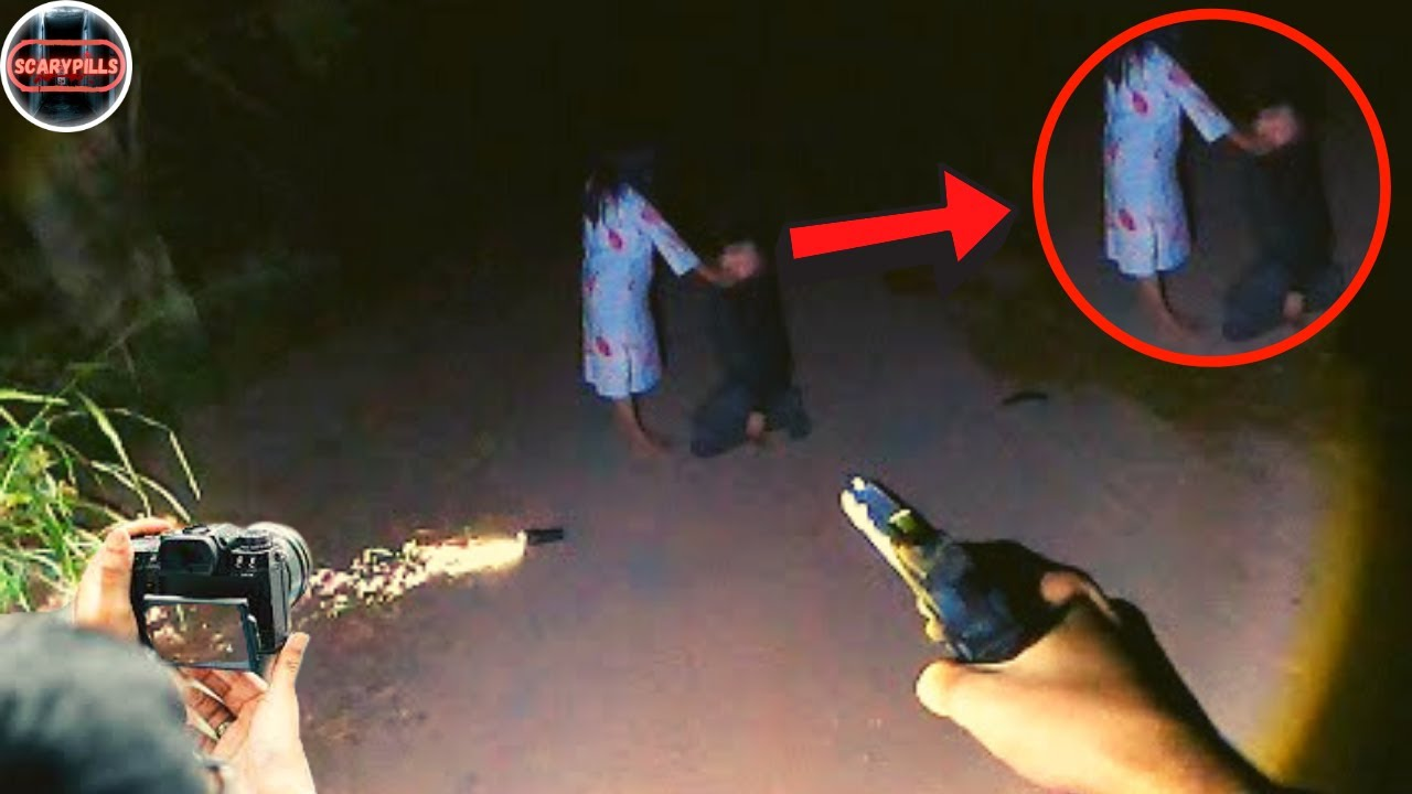 Top 7 Terrifying Ghost Videos Caught On Camera That Will Haunt You In Dark (Hindi)