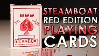 Deck Review - SteamBoat Red 999 Playing Cards USPCC Printed