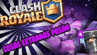 cosas extrañas pasan en clash royale curiosidades glitch español  bug
