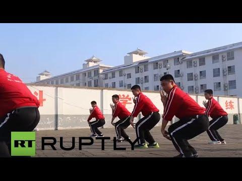 China: Shaolin football academy combines Kung Fu and soccer