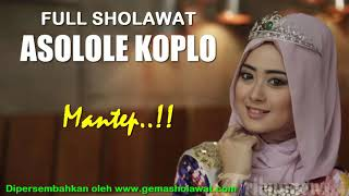 Download Video Mantep...!!! Full Sholawat ASOLOLE KOPLO HD MP3 3GP MP4