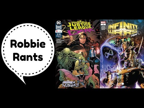 Weekly Comic Book Review 07/25/18 – Robbie Rants #211