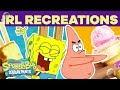 Crazy SpongeBob IRL Recreations! 🍔 #TBT