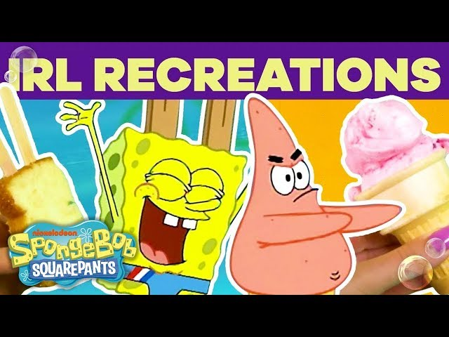 Crazy SpongeBob IRL Recreations! 🍔 | #TBT