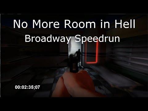NMRiH - Broadway Speedrun - SOLO