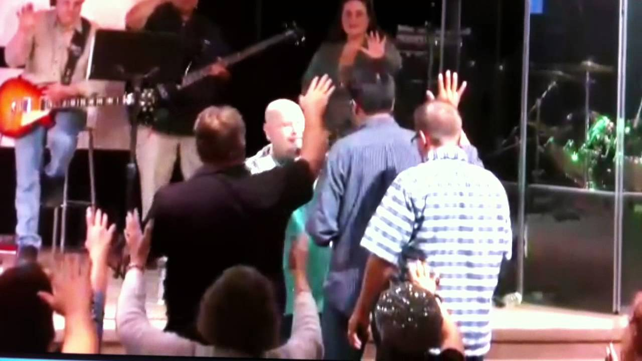 Impartation by Todd Bentley to pastor Omar Corredor