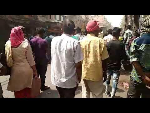 Demolition in Khari baoli  chandni chowk. Today 18/05/ 2018