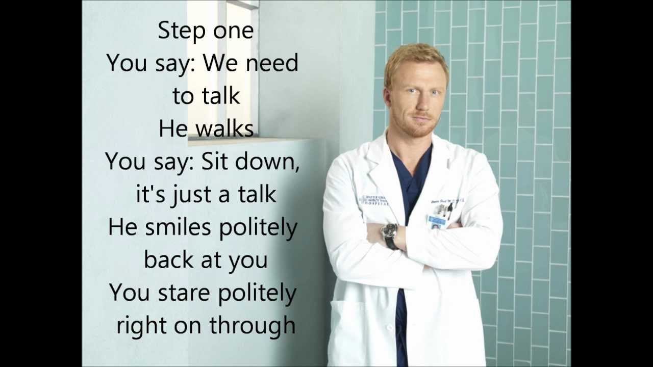 How to Save A Life (Grey\'s Anatomy) with lyrics - YouTube