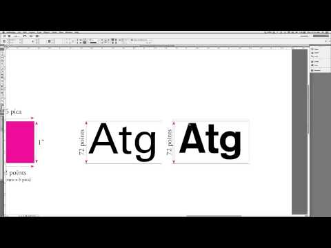 typography units of typographic measurement youtube