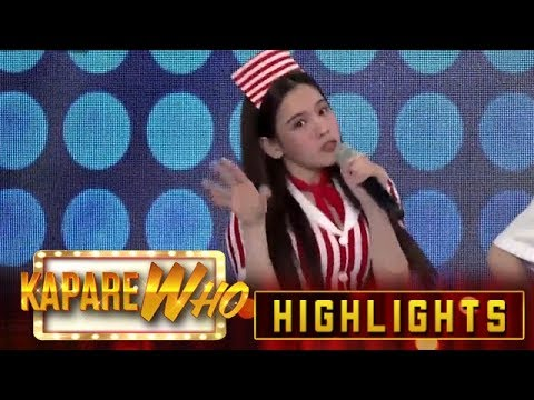 Ate Girl Jackque takes on the Ginataang Mais dance challenge | It's Showtime KapareWho