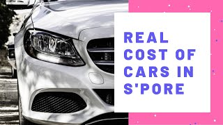 Revealed: Real Cost of car in Singapore | Money Matters
