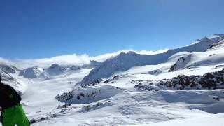 Pitztal Gletscher Trail Maniak Streckenabschnitt Mittagskogl