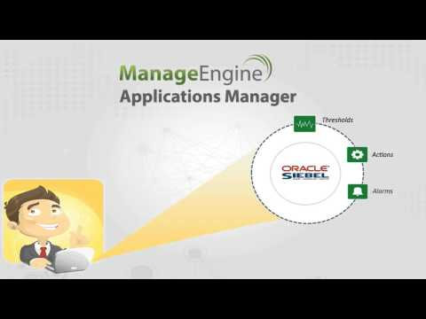 ManageEngine Applications Manager- Siebel CRM Monitoring