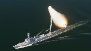 イージス艦艦隊vs対艦ミサイル飽和攻撃【DCSWorld】