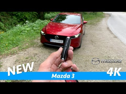 Mazda 3 2019 - FIRST FULL in-depth review in 4K   Skyactiv-G122 Plus, full package interior-exterior