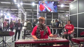 Nord Piano 3 Demo Musikmesse 2016 Lars Peter ProLightandSound 2016