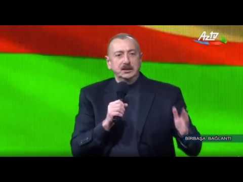 İlham Əliyev xalqa müraciət etdi
