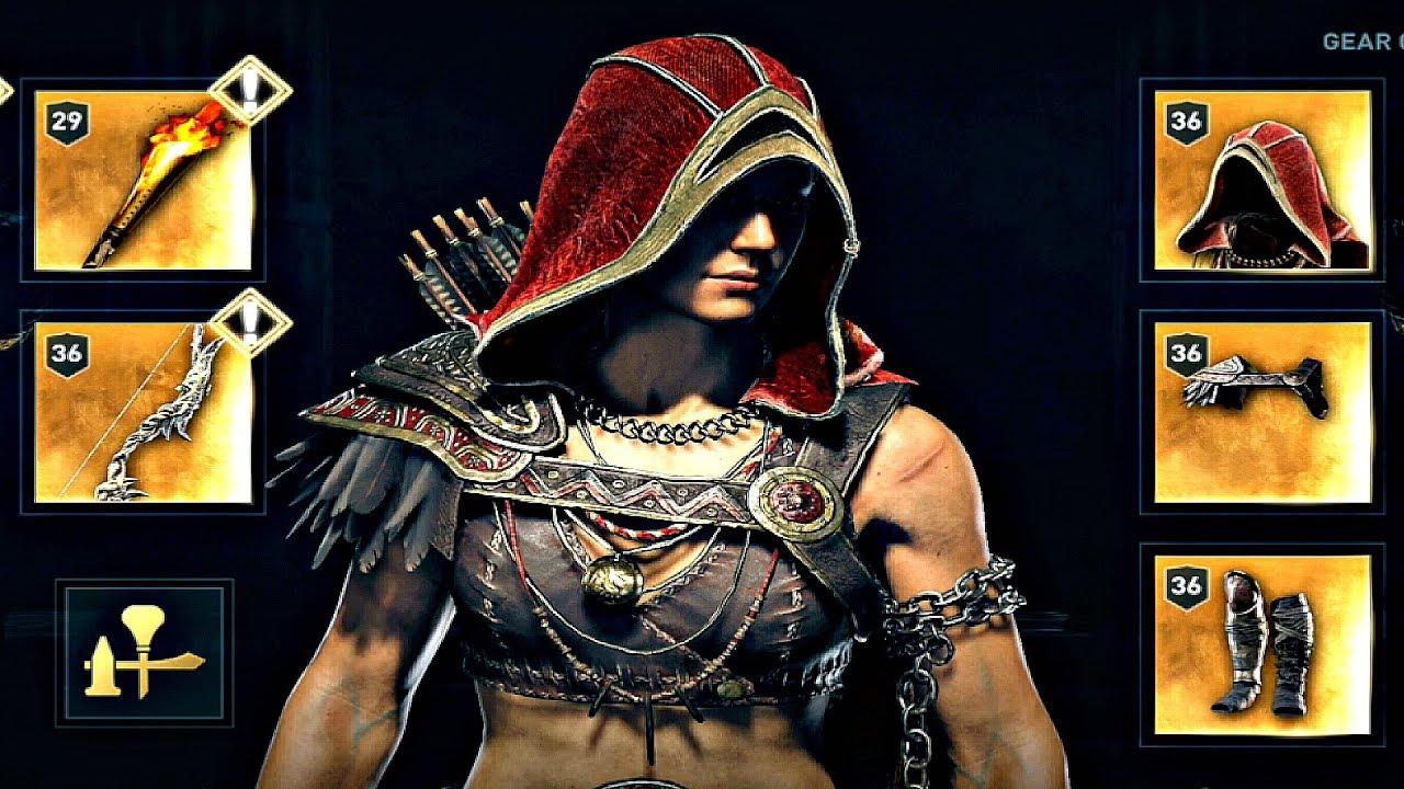 Assassin's Creed Odyssey - Spartan Renegade Armor Set ...