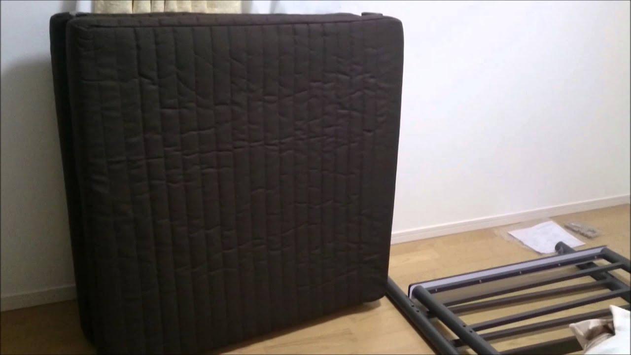 ニトリのベッド組み立ててみた。ソファーベッド~幅広ソファに変身する