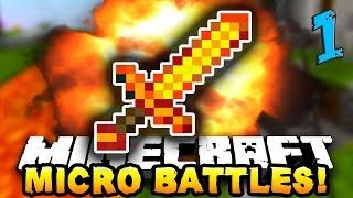 Minecraft Micro Battle - Bölüm 1 - Konuğumuz Var /w HanKanal