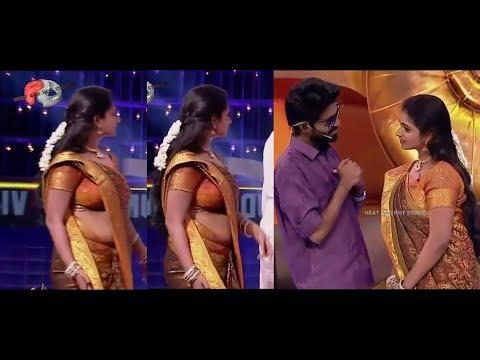 Serial actress hot navel video Vijay tv Serail actress thumbnail