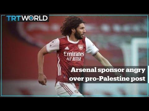Arsenal sponsor wants player Elneny dismissed for pro-Palestine post