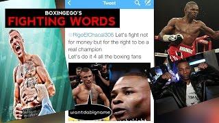 Lomachenko vs Rigondeaux WAR OF WORDS online -EGO FIGHTING WORDS