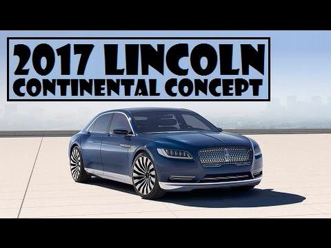 2017 lincoln continental concept full size luxury sedan. Black Bedroom Furniture Sets. Home Design Ideas