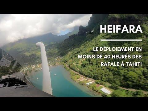 HEIFARA : Le déploiement en moins de 40 heures des Rafale à Tahiti