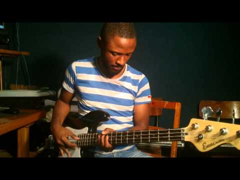 Lingala ya yesu bass guitar cover