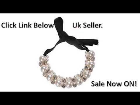 Peal Choker Necklace: Sale Now On Uk Seller Peal Choker
