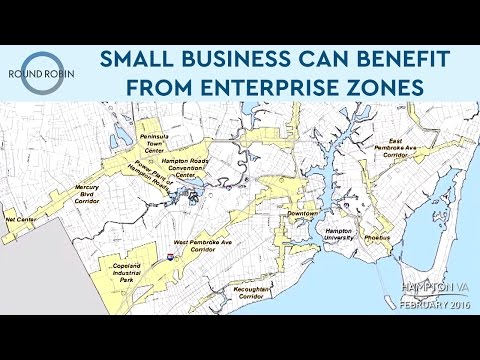 Small business can benefit from enterprise zones