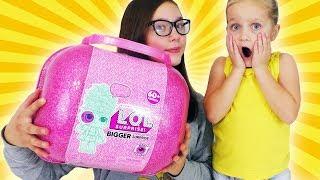 видео lol чемодан bigger surprise 60
