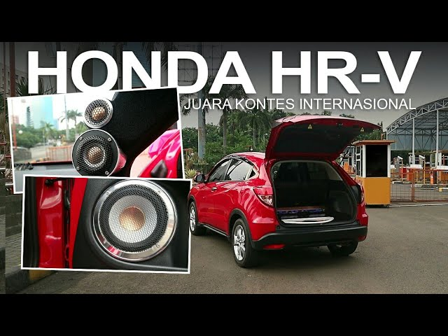 Modifikasi Audio Mobil Honda HR-V : Juara Kontes USACI (Tim Audible Physics Indonesia)
