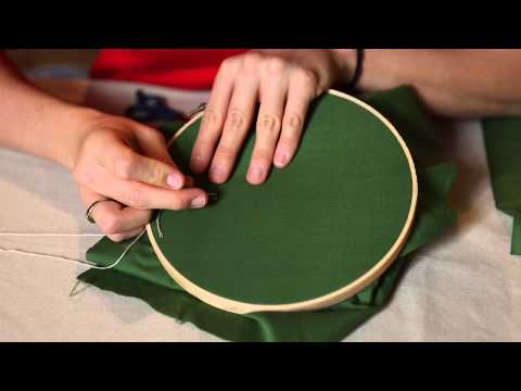Handi-hour Crafting: Embroidered Holiday Ornaments