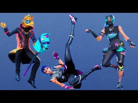 Fortnite All Dances Season 1-10